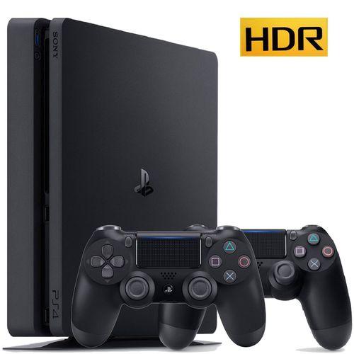 مجموعه کنسول بازی سونی مدل Playstation 4 Slim کد CUH-2115B Region 1 - ظرفیت 1 ترابایت