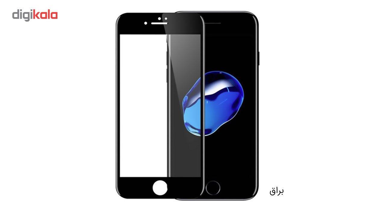 محافظ صفحه نمایش شیشه ای کوالا مدل Full Cover مناسب برای گوشی موبایل اپل آیفون 7 به همراه محافظ پشت Tempered و محافظ لنز دوربین main 1 2
