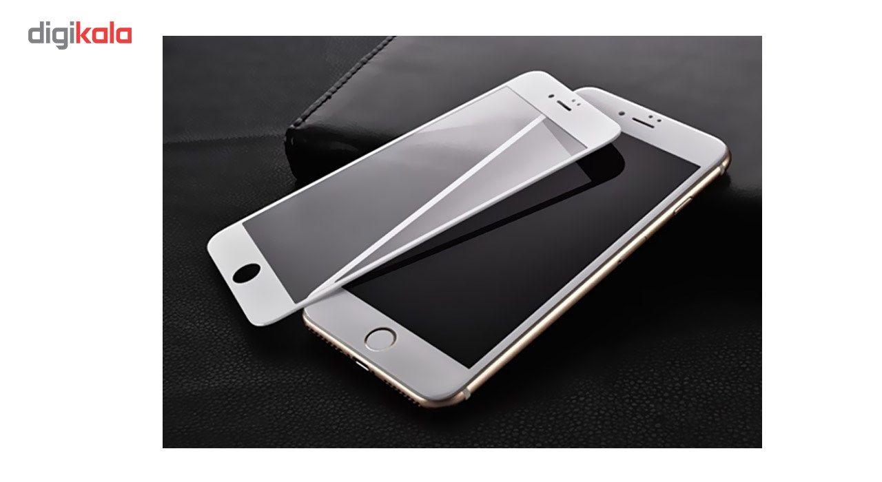 محافظ صفحه نمایش شیشه ای کوالا مدل Full Cover مناسب برای گوشی موبایل اپل آیفون 7 به همراه محافظ پشت Tempered و محافظ لنز دوربین main 1 4