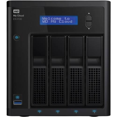 ذخیره ساز تحت شبکه 4Bay وسترن دیجیتال مدل My Cloud EX4100 بدون هارددیسک