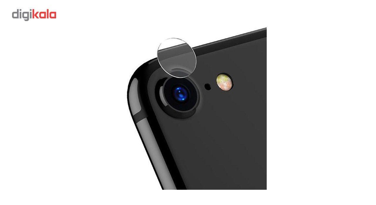 محافظ صفحه نمایش شیشه ای کوالا مدل Full Cover مناسب برای گوشی موبایل اپل آیفون 7 به همراه محافظ پشت Tempered و محافظ لنز دوربین main 1 7
