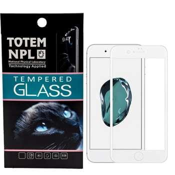 محافظ صفحه نمایش تمام چسب شیشه ای مدل 5D مناسب برای گوشی اپل آیفون 8