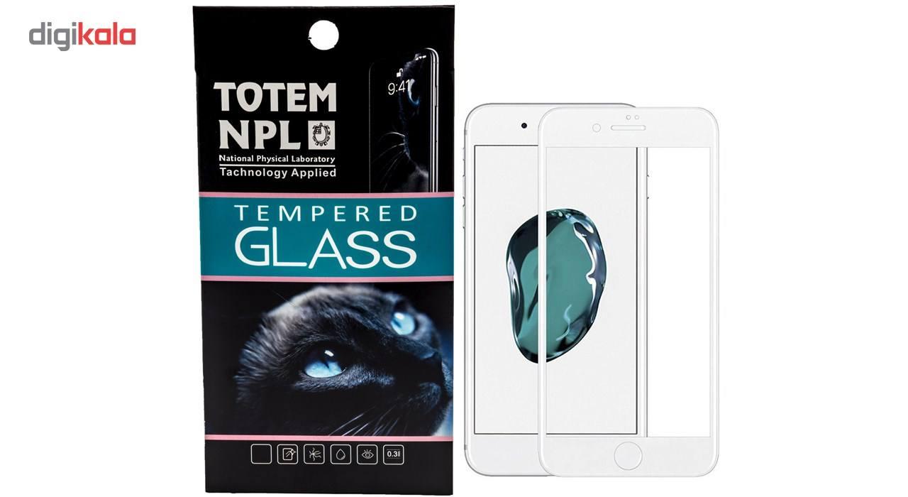 محافظ صفحه نمایش تمام چسب شیشه ای مدل 5D مناسب برای گوشی اپل آیفون 8 main 1 1