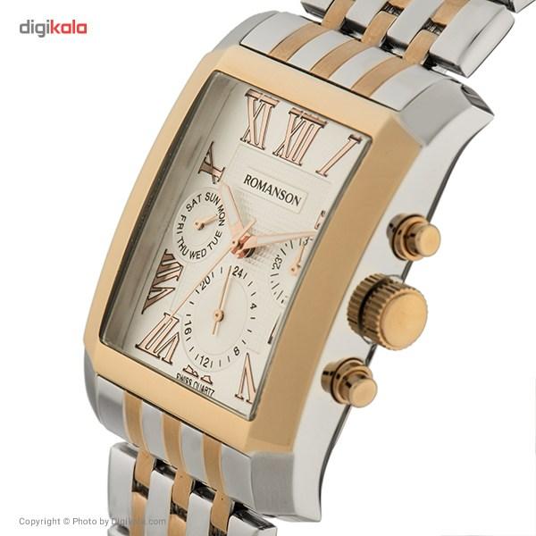 ساعت مچی عقربه ای مردانه رومانسون مدل TM0342BM1JA16R
