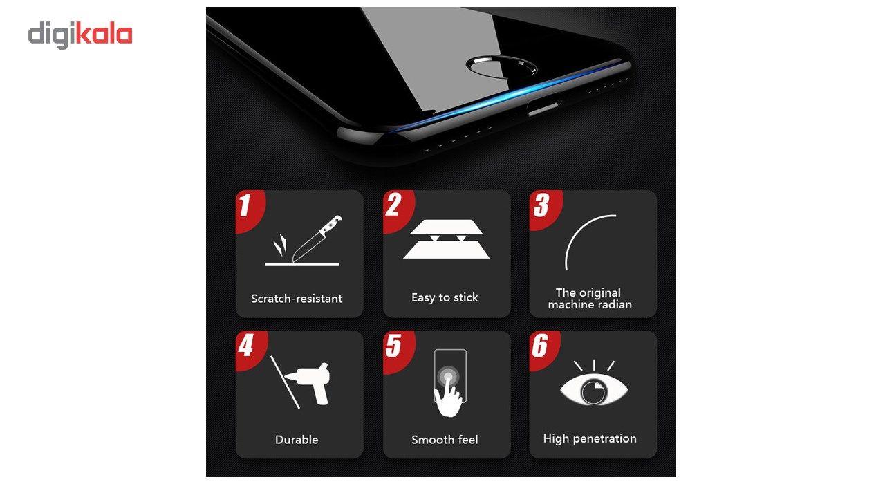 محافظ صفحه نمایش تمام چسب شیشه ای مدل 5D مناسب برای گوشی اپل آیفون 8 main 1 10