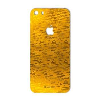 برچسب پوششی ماهوت مدل  Gold-pixel Special مناسب برای گوشی iPhone 5S-SE