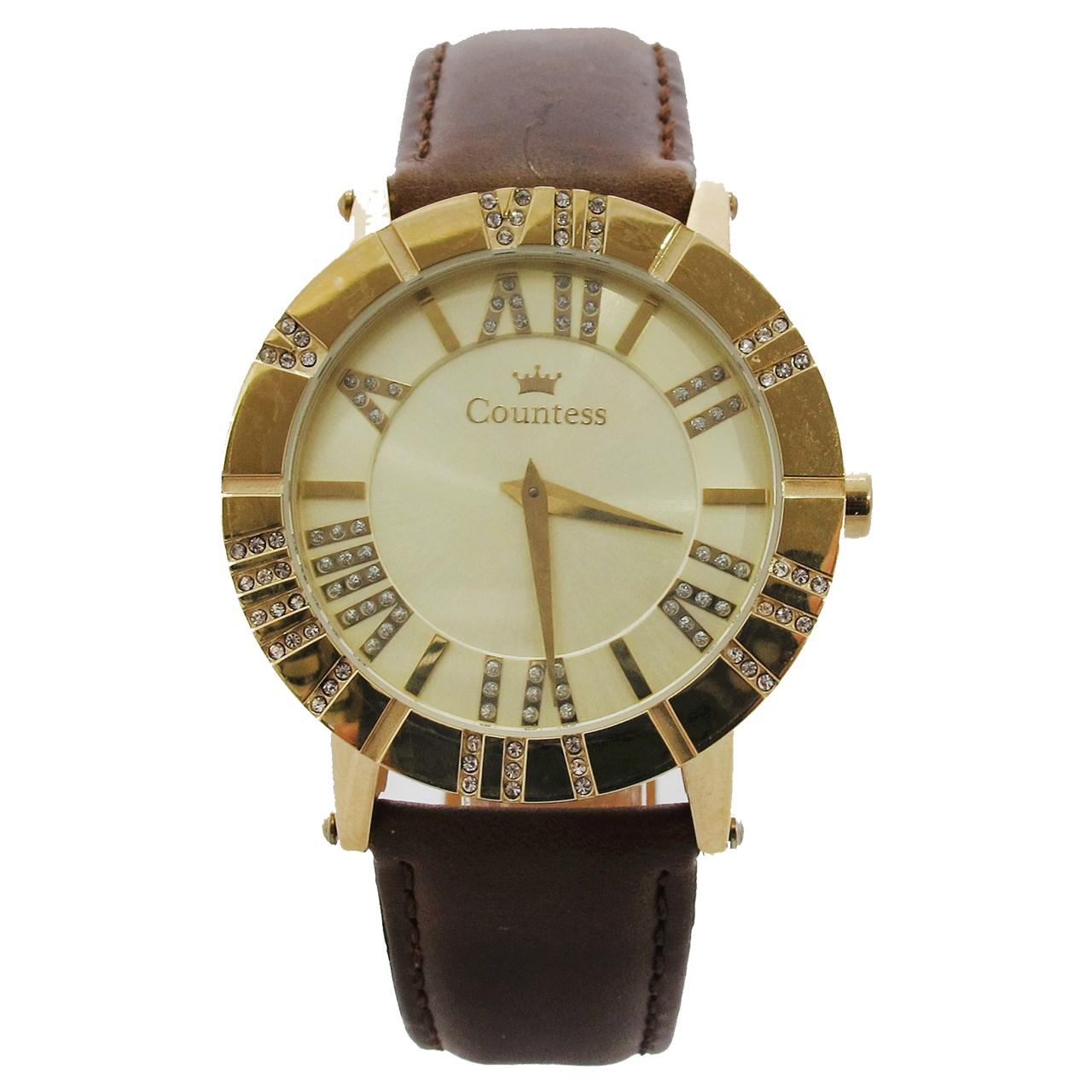ساعت مچی عقربه ای زنانه کنتس مدل CTS14608GA