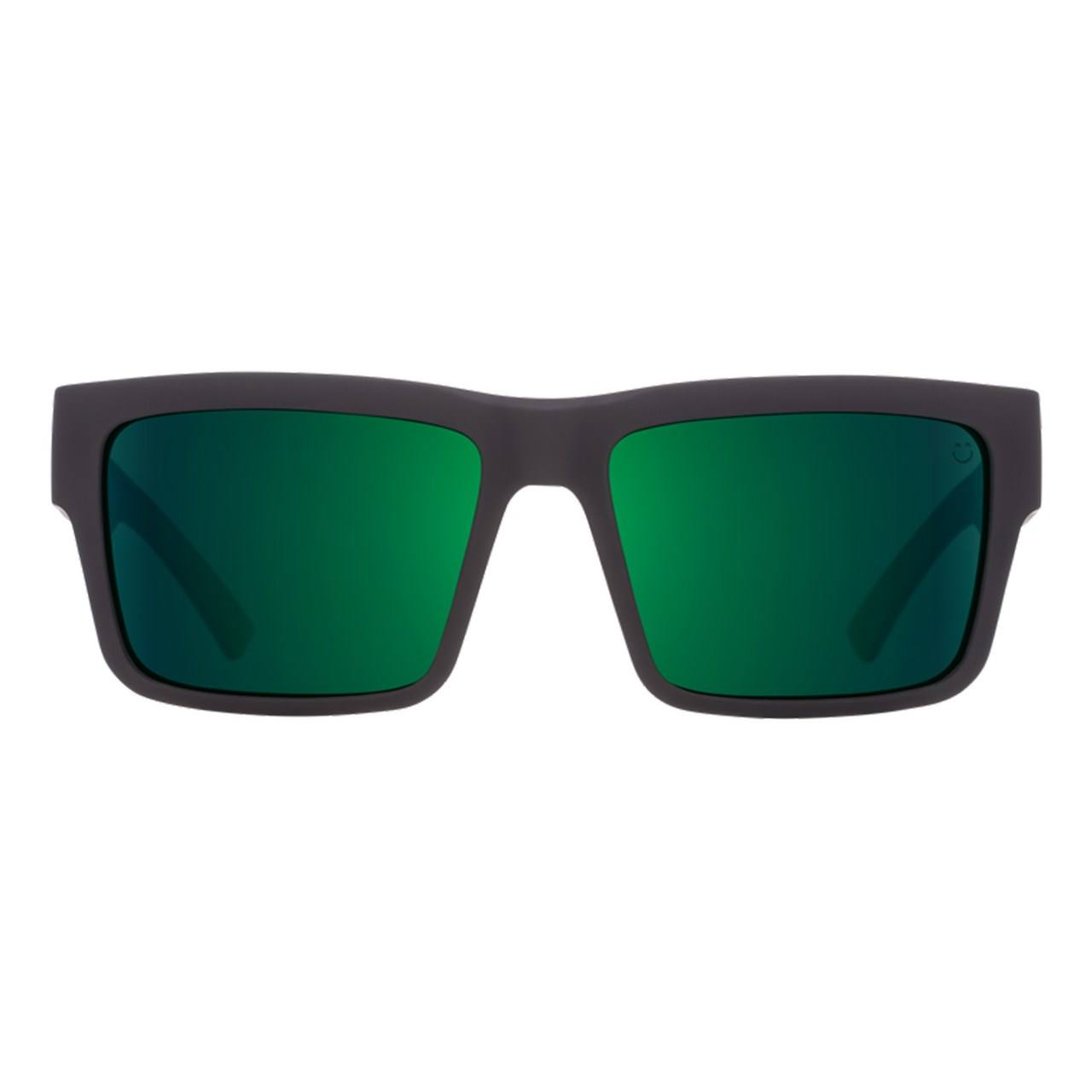 عینک آفتابی اسپای سری Montana سری Soft Matte Black Green Fade Happy Gray Green Green Flash -  - 1