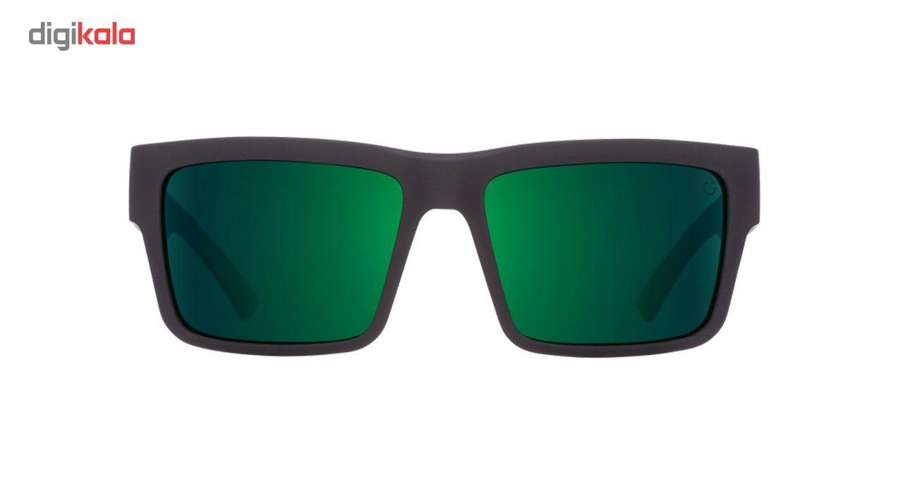 عینک آفتابی اسپای سری Montana سری Soft Matte Black Green Fade Happy Gray Green Green Flash -  - 4