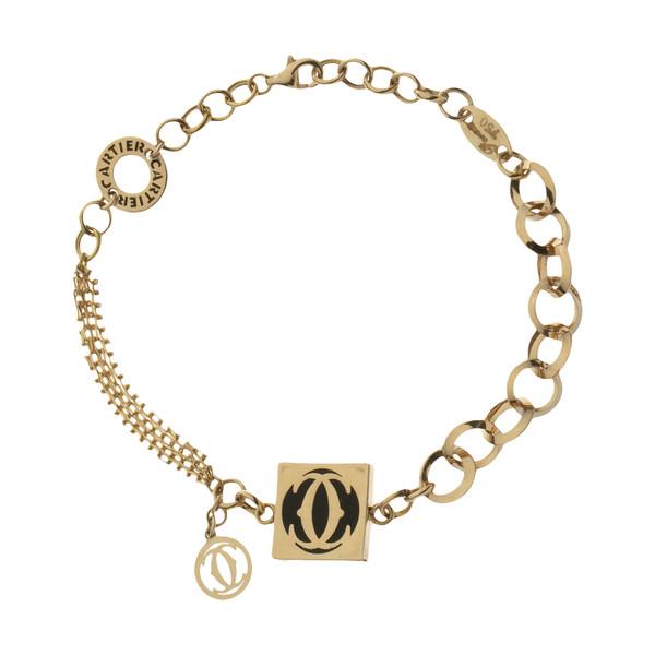 دستبند طلا 18 عیار زنانه مایا ماهک مدل MB1161