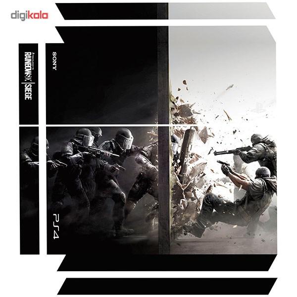 برچسب عمودی پلی استیشن 4 ونسونی طرح Rainbow Six Siege