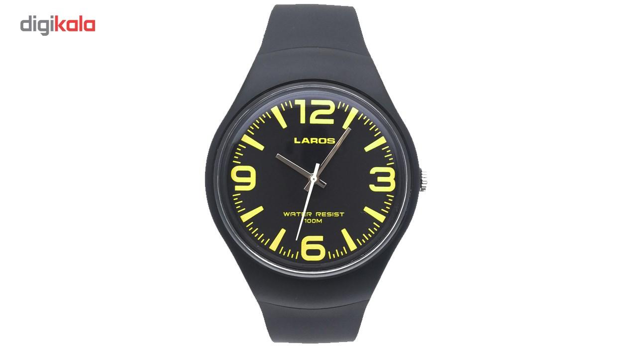 ساعت مچی عقربه ای لاروس مدل LC-B300-Black thumb 2 1
