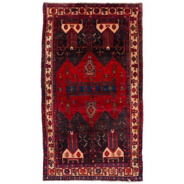 فرش دستبافت قدیمی چهار متری سی پرشیا کد 102206