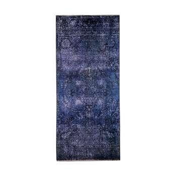 فرش دستبافت رنگ شده کناره طول سه متری کد 1357