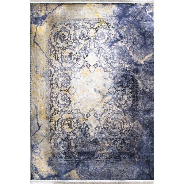 فرش ماشینی افرند طرح پتینه کد 1027