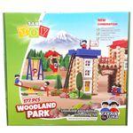 بازی ساختنی 177 تکه تک توی مدل Woodland Park