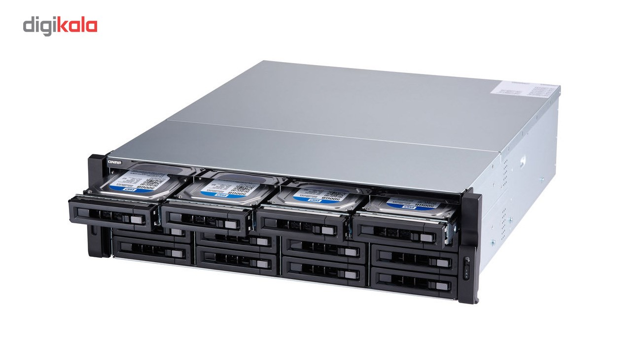 ذخیره ساز تحت شبکه کیونپ مدل  TS-1673U-RP-8G
