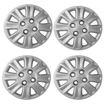 قالپاق چرخ صنایع خودرو حامد مدل Dankarr سایز 13 اینچ مناسب برای تیبا بسته 4 عددی