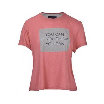 تی شرت آستین کوتاه زنانه بادی اسپینر مدل 2898 کد 1 رنگ گلبهی