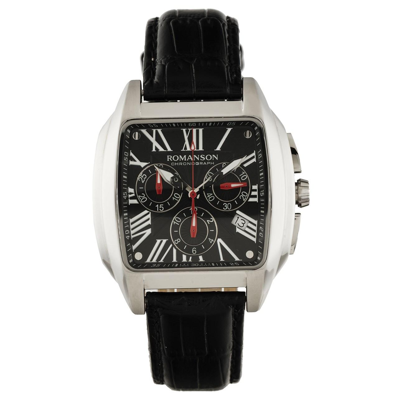 ساعت مچی عقربه ای مردانه رومانسون مدل TL1273HM1WA37W 15