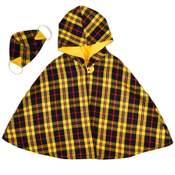 ست شنل و ماسک دخترانه نیروان کد 101080 -1