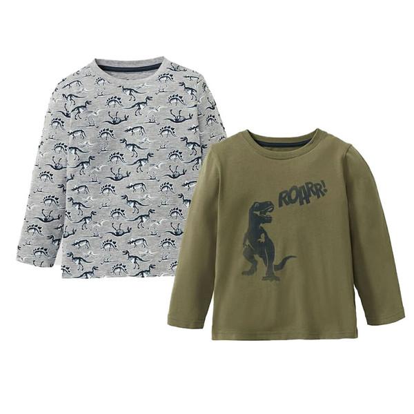 تی شرت پسرانه لوپیلو کد DN02 مجموعه دو عددی