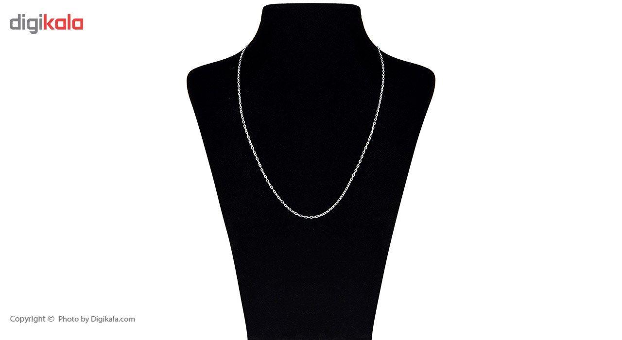 زنجیر طلا 18 عیار ماهک مدل MM0658 - مایا ماهک -  - 2