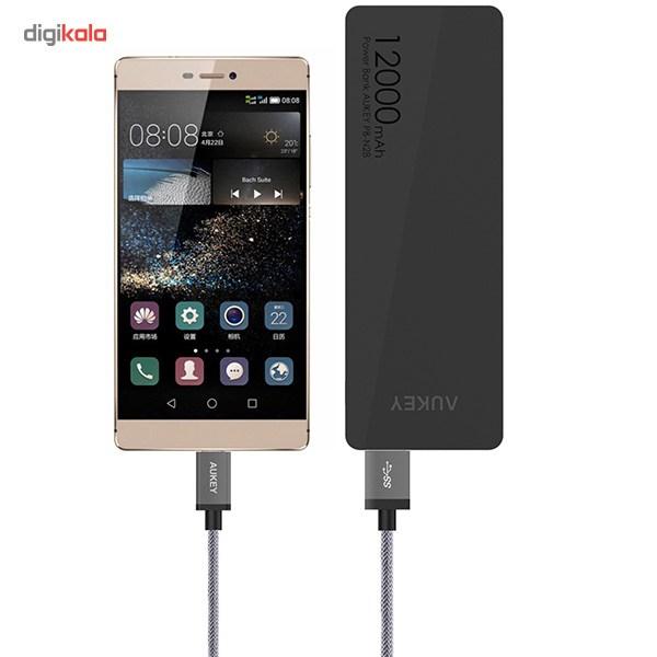 کابل تبدیل USB 3.0 به USB-C آکی مدل CB-CD2 طول 1 متر main 1 4