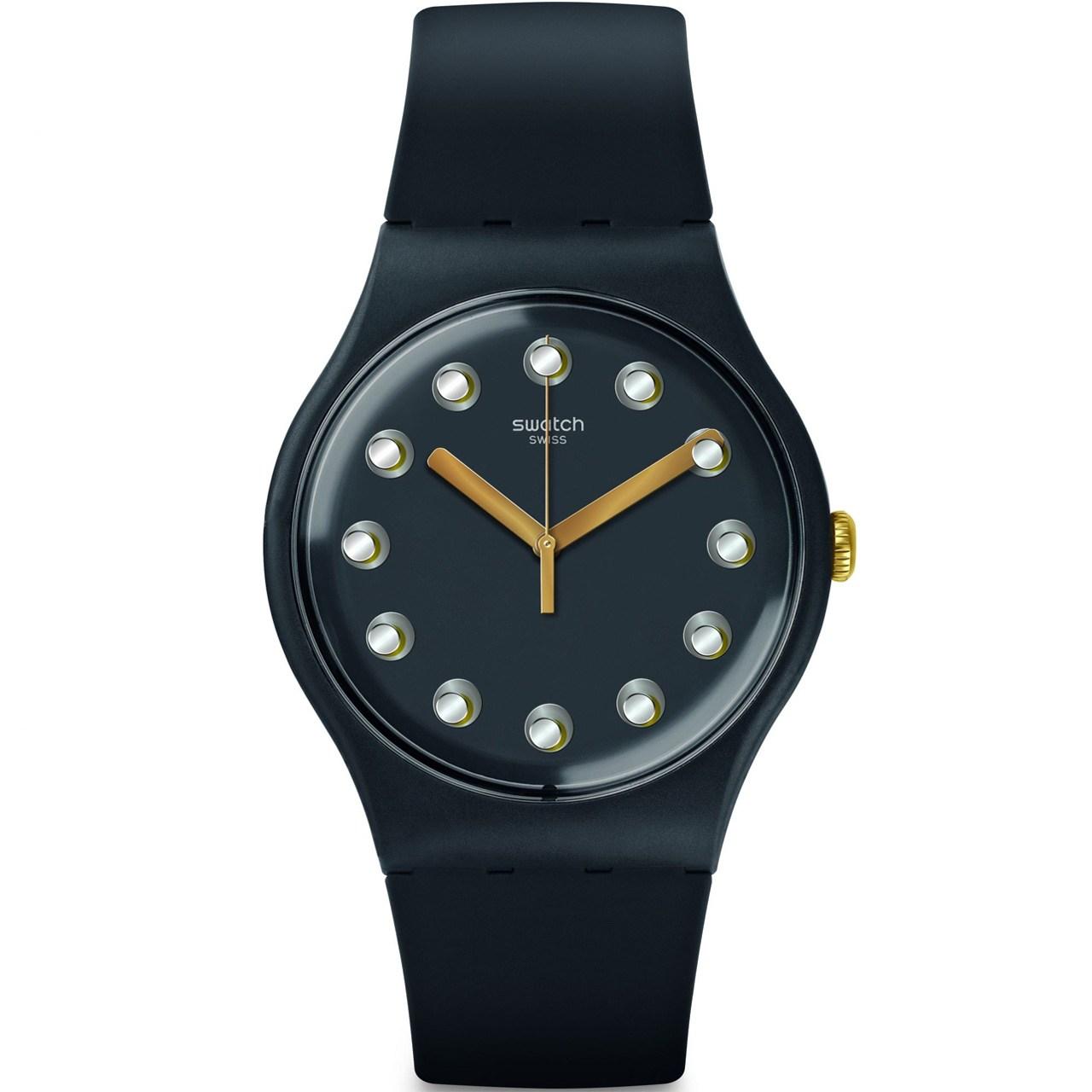 ساعت مچی عقربه ای سواچ مدل SUOM104
