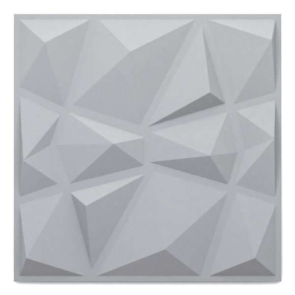 دیوارپوش مدل سه بعدی طرح الماس بسته 4 عددی