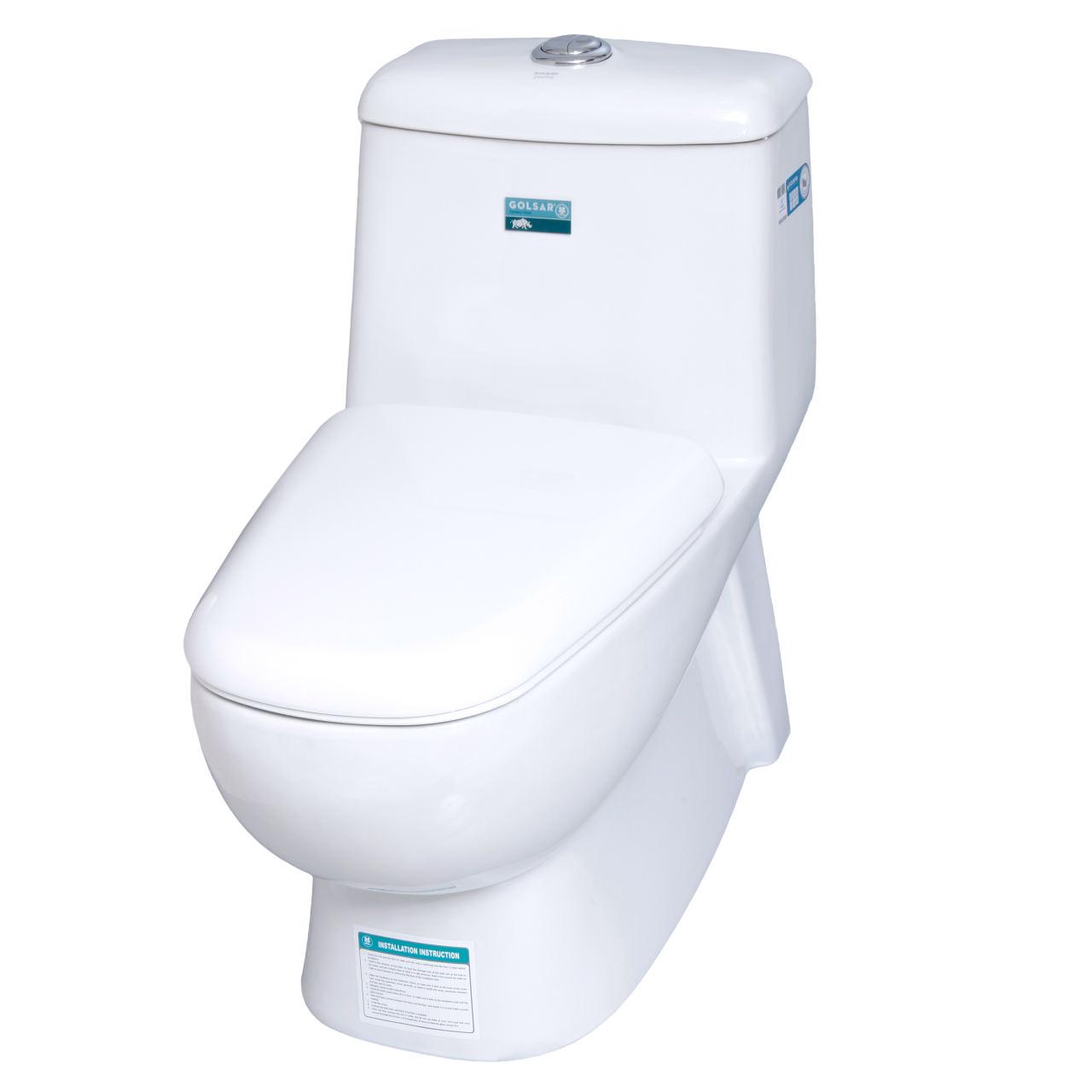 توالت فرنگی گلسار مدل پارمیس سیملس