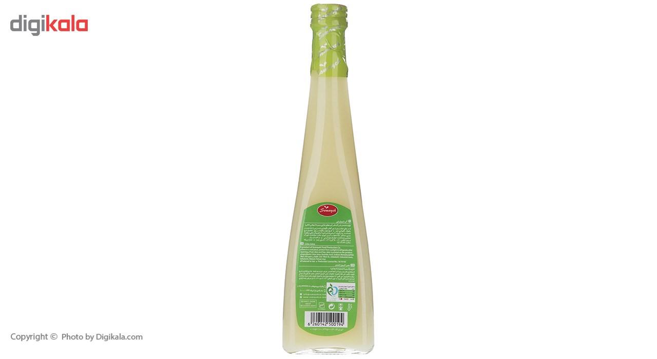 آب لیمو ترش سمیه مقدار 0.5 لیتر
