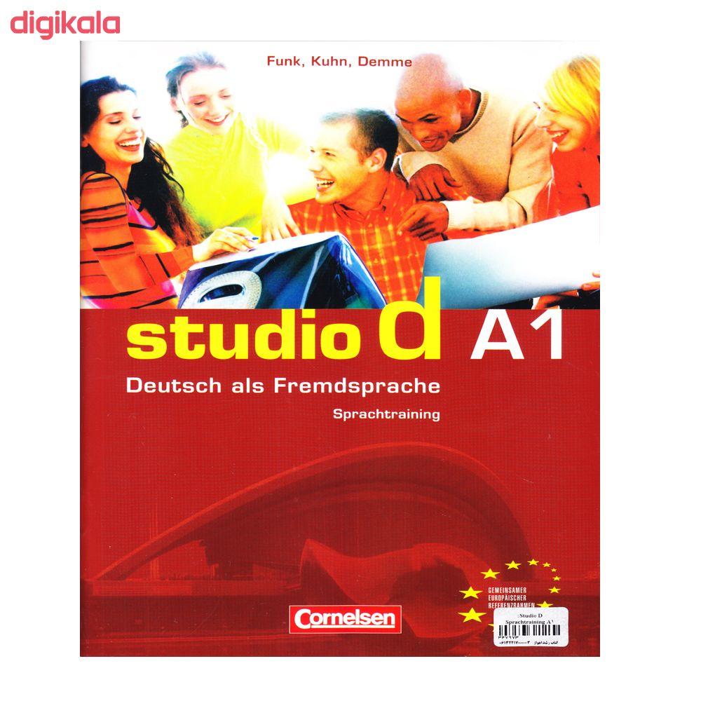 کتاب Studio d A1 اثر جمعی از نویسندگان انتشارات الوندپویان