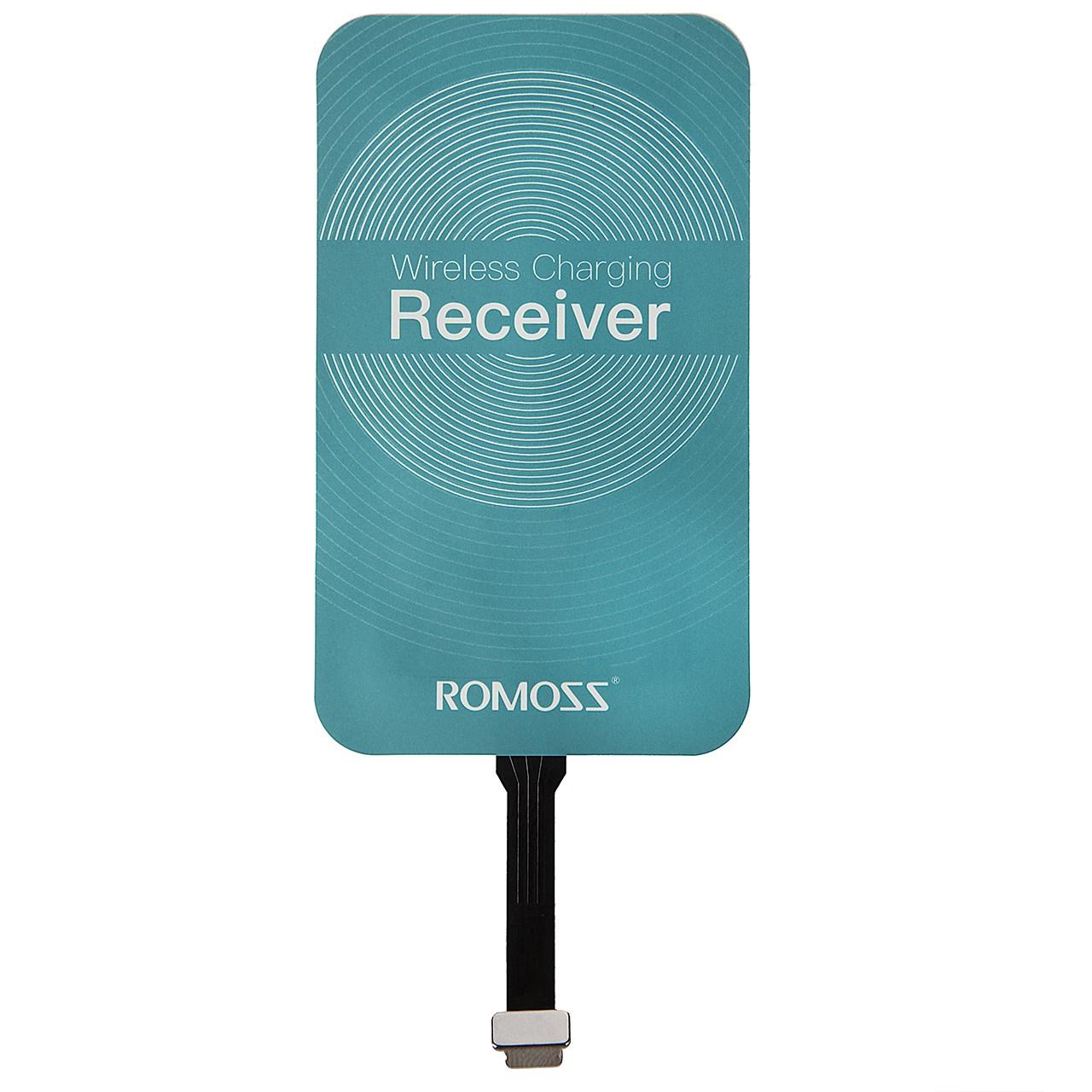 گیرنده شارژر بی سیم روموس مدل RL02 مناسب برای گوشی موبایل آیفون 6 پلاس/6s پلاس