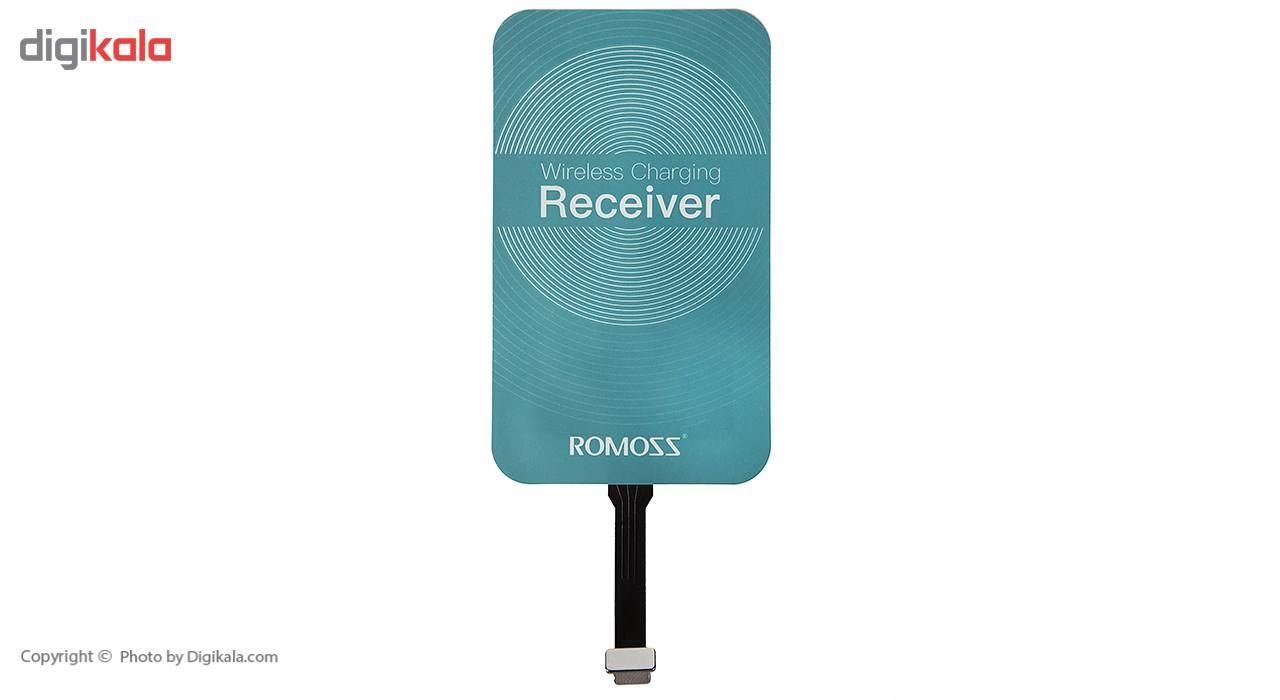 گیرنده شارژر بی سیم روموس مدل RL02 مناسب برای گوشی موبایل آیفون 6 پلاس/6s پلاس main 1 1