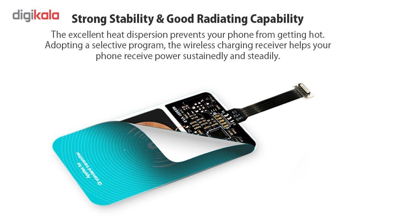 گیرنده شارژر بی سیم روموس مدل RL02 مناسب برای گوشی موبایل آیفون 6 پلاس/6s پلاس main 1 6