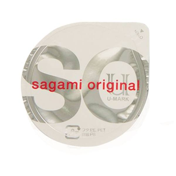 کاندوم ساگامی مدل Polyurethane بسته یک عددی