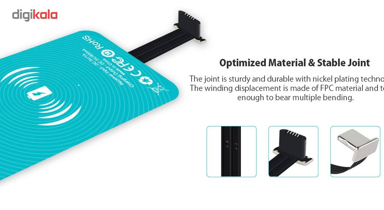 گیرنده شارژر بی سیم روموس مدل RL02 مناسب برای گوشی موبایل آیفون 6 پلاس/6s پلاس main 1 7