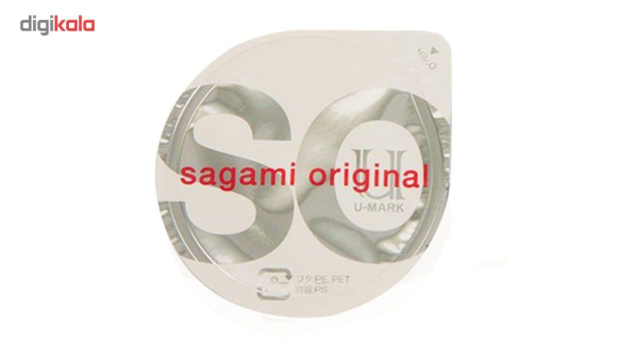 کاندوم ساگامی مدل Polyurethane بسته یک عددی main 1 1