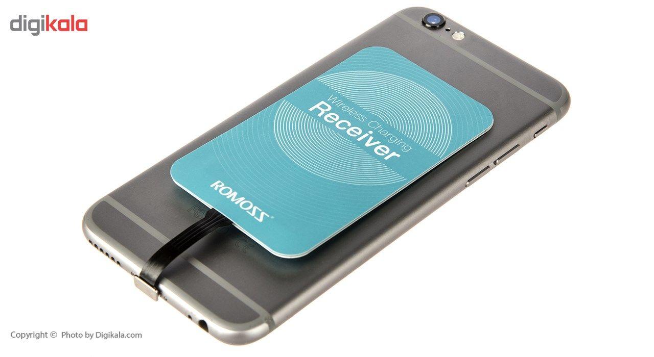 گیرنده شارژر بی سیم روموس مدل RL02 مناسب برای گوشی موبایل آیفون 6 پلاس/6s پلاس main 1 8