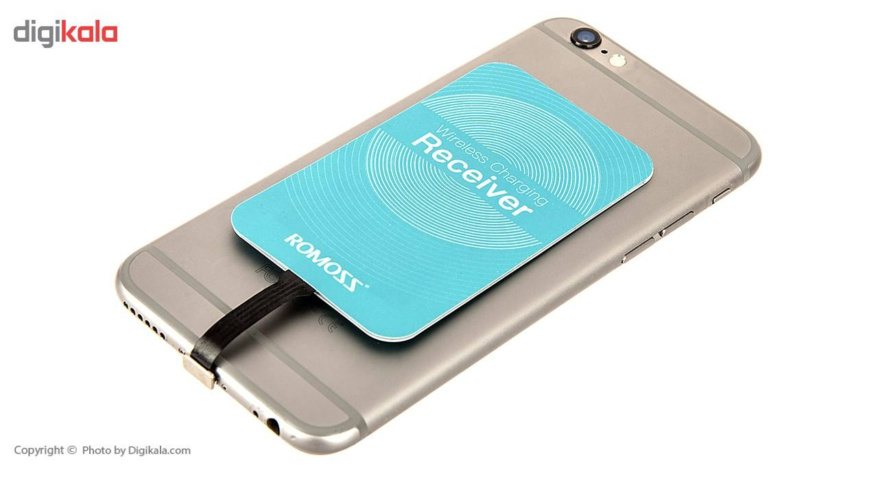 گیرنده شارژر بی سیم روموس مدل RL02 مناسب برای گوشی موبایل آیفون 6 پلاس/6s پلاس main 1 9