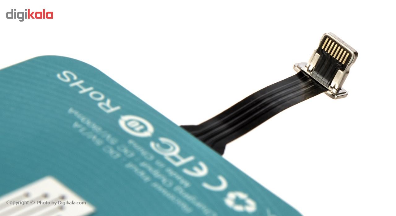 گیرنده شارژر بی سیم روموس مدل RL02 مناسب برای گوشی موبایل آیفون 6 پلاس/6s پلاس main 1 13