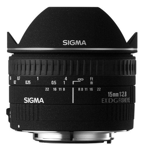 لنز سیگما 15MM F2.8 EX DG DIAGONAL FISHEYE