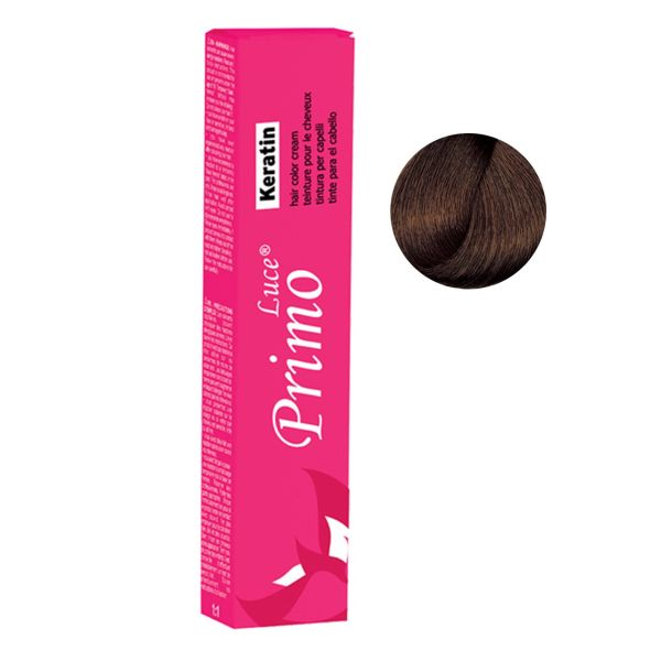 رنگ موی پیریمو لوسی سری Cinnamon مدل Light Cinamon Brown شماره 5.45