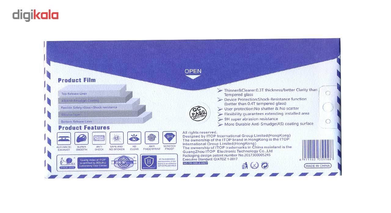 محافظ صفحه نمایش نانو گلس  مدل فول کاور 5D آنتی شوک مناسب برای گوشی آیفون 7/8 main 1 4