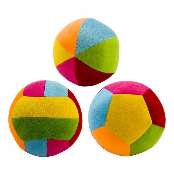 توپ بازی مدل آپارتمانی مجموعه 3 عددی