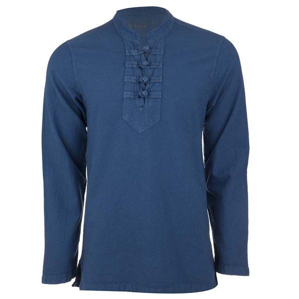 پیراهن آندیا مدل چهارگره آبی