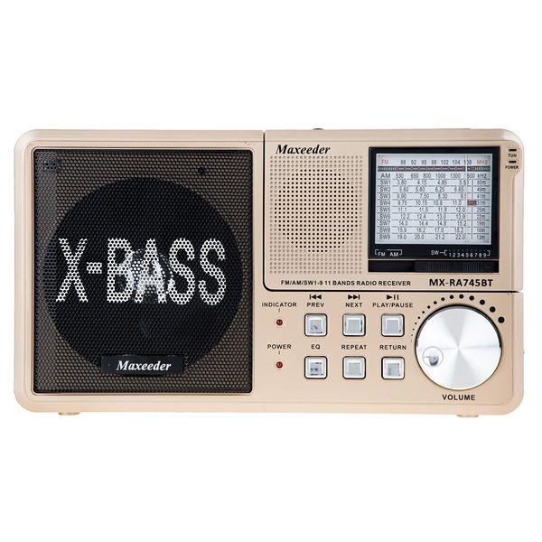 رادیو مکسیدر مدل MX-RA745BT