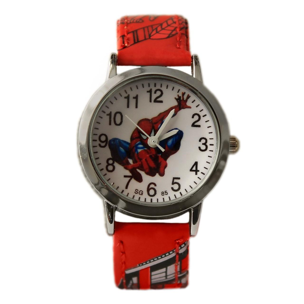 ساعت مچی عقربه ای بچگانه مدل SpiderMan 4