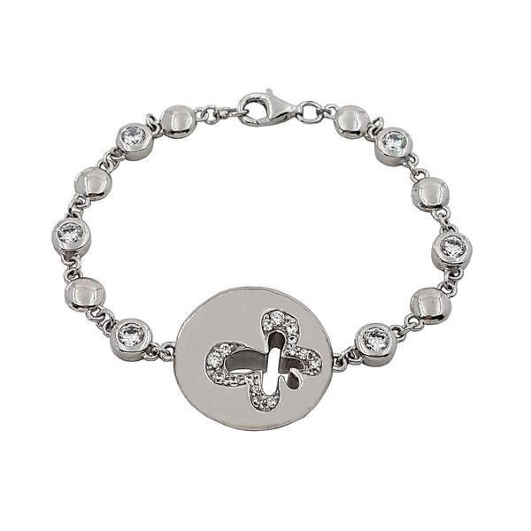 دستبند نقره زنانه  زیندکو مدل F04